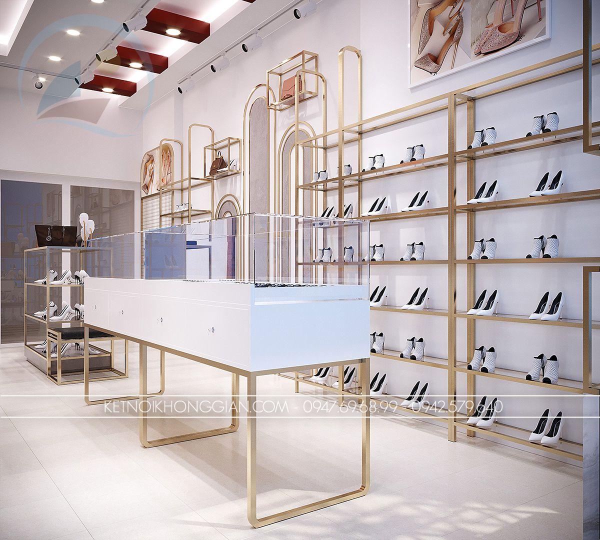 thiết kế shop giày dép