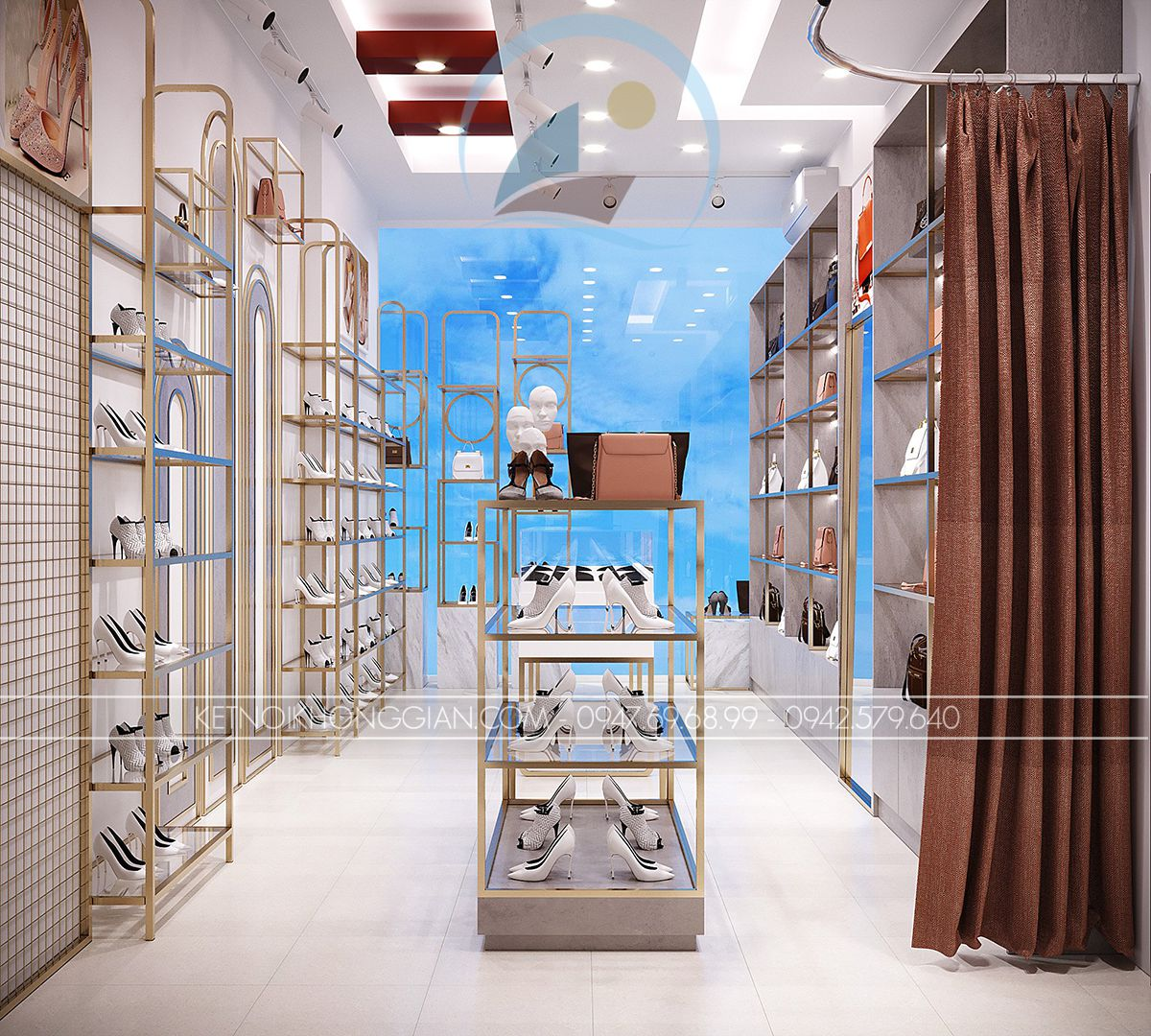 thiết kế cửa hàng online