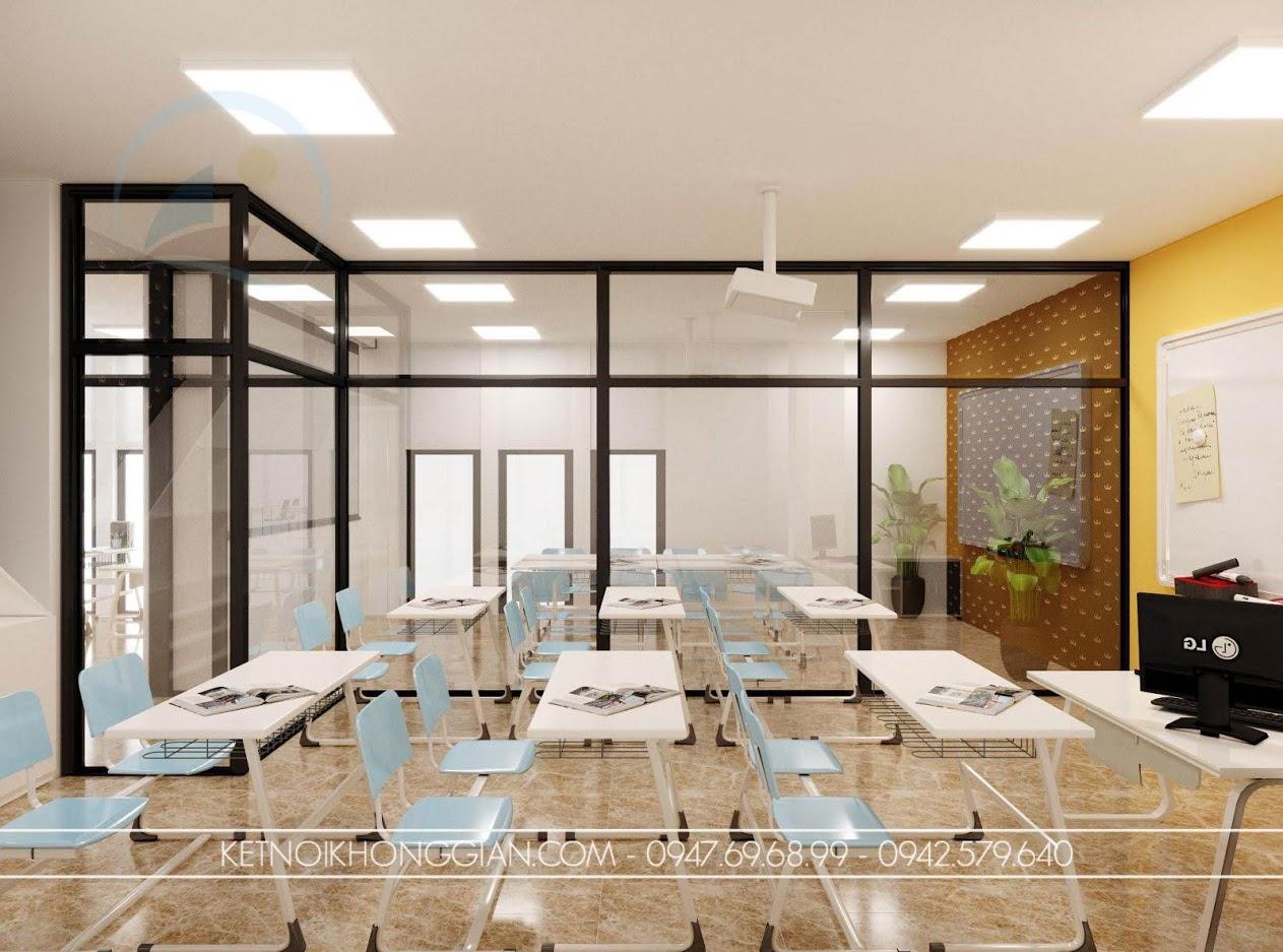 thiết kế thư viện và phòng học
