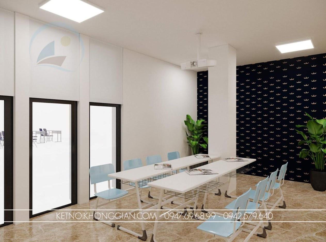 Thiết kế thư viện kết hợp phòng học