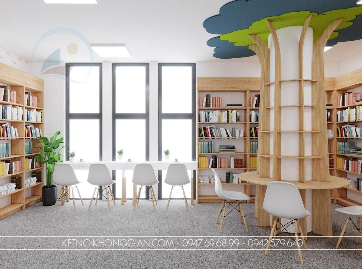 thiết kế thư viện đẹp
