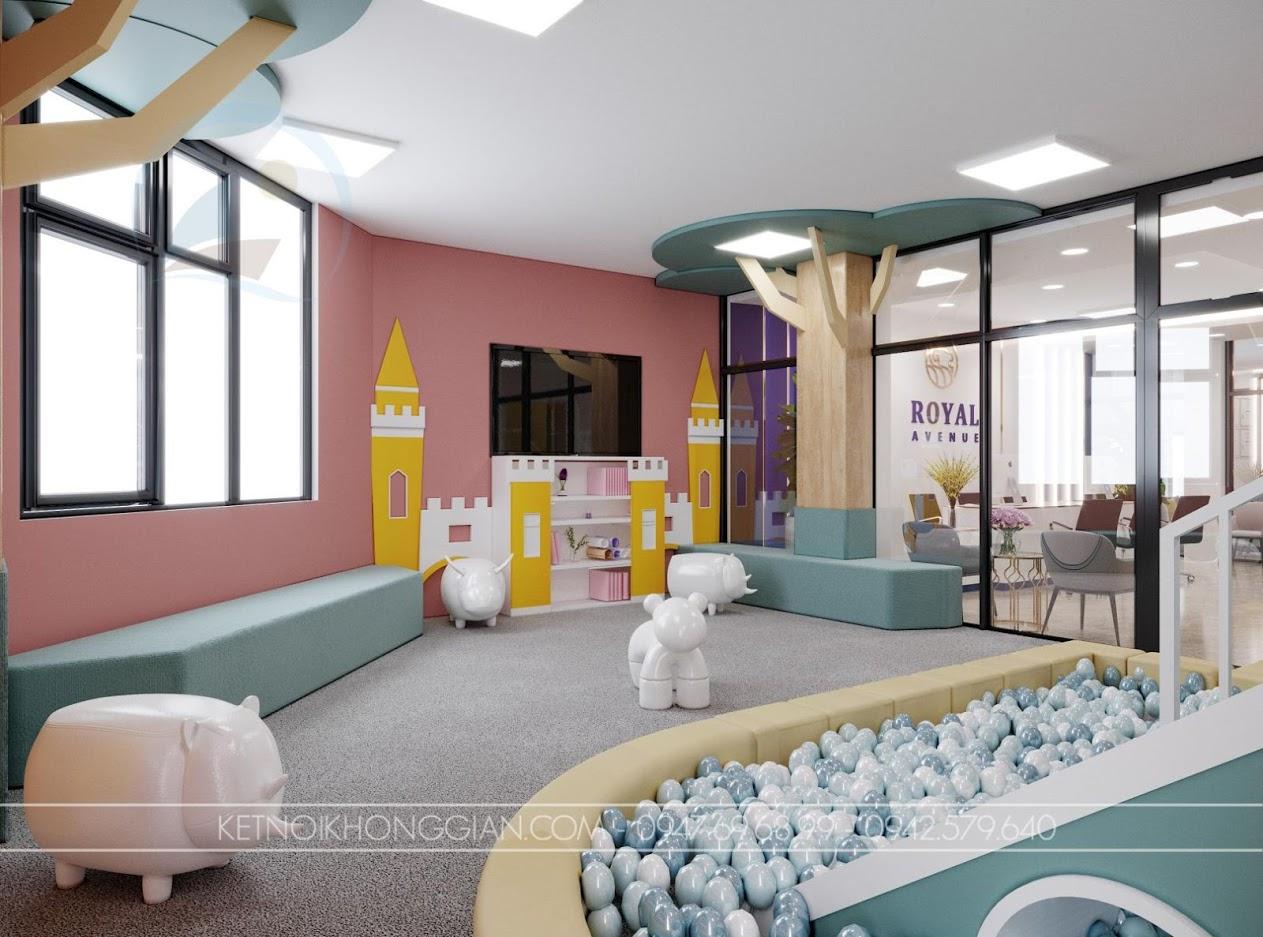 thiết kế khu vui chơi trẻ em diện tích nhỏ