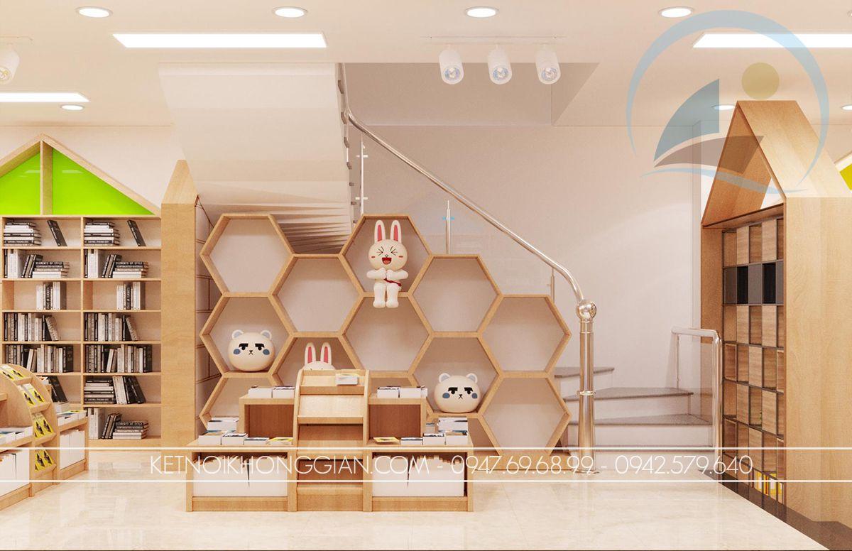 thiết kế nhà sách hà nội