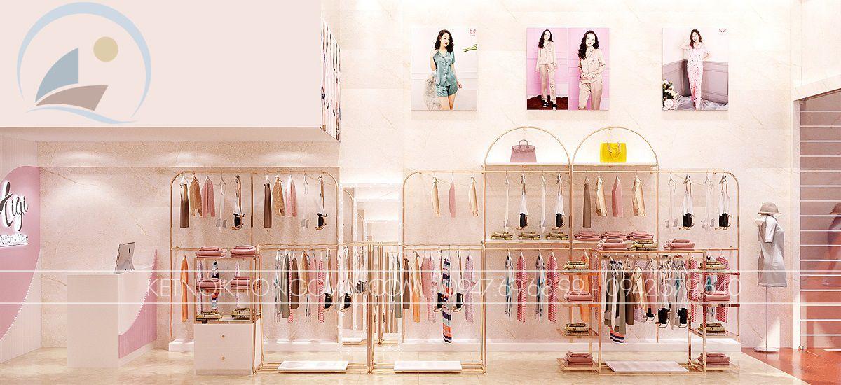kệ trưng bày shop thời trang