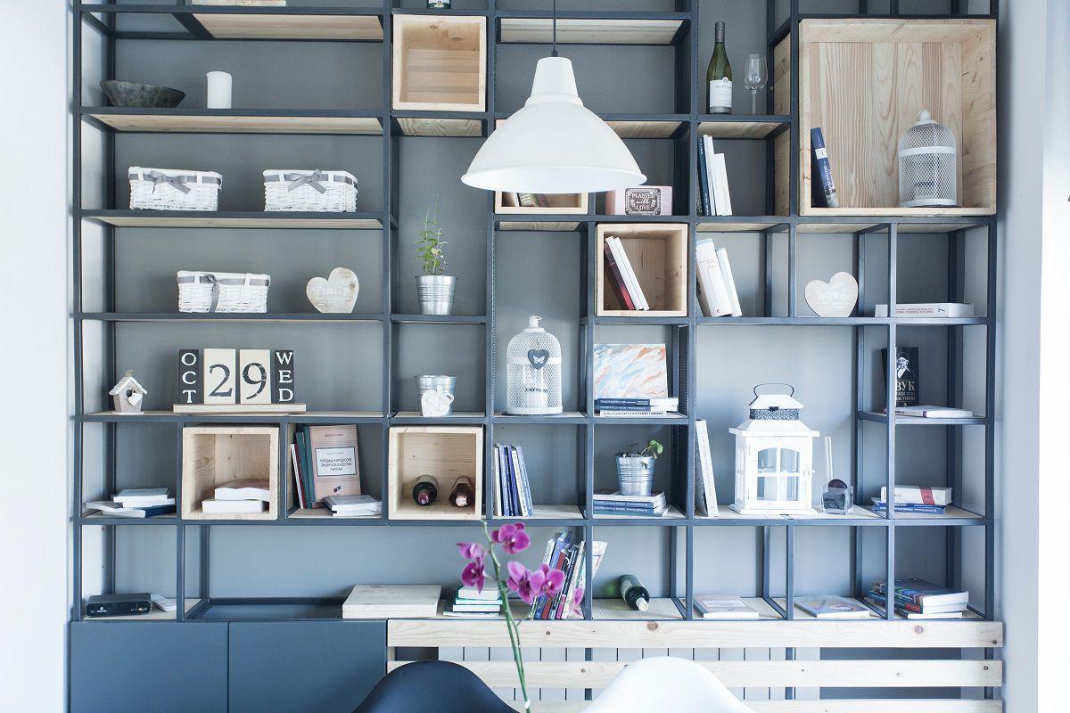 thiết kế cửa hàng cafe sách