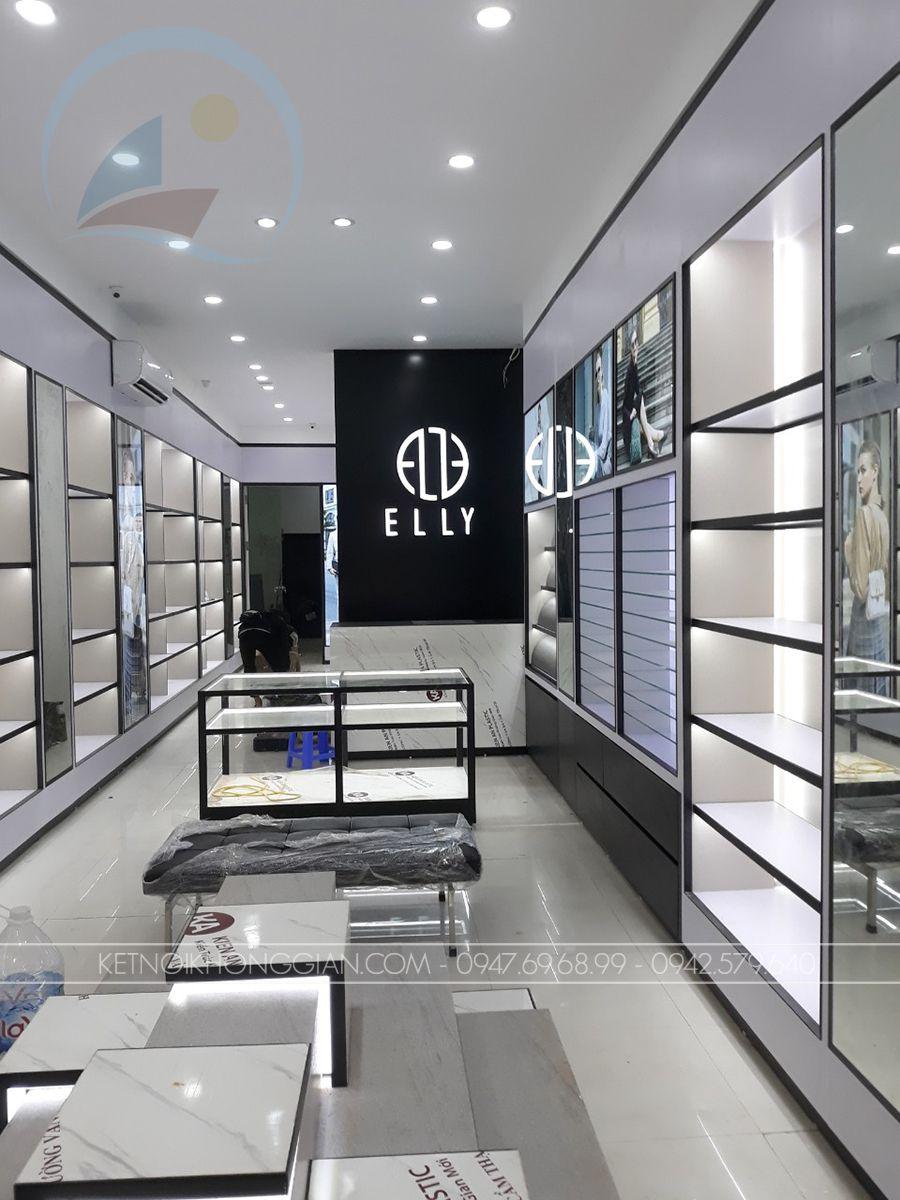 Thiết kế cửa hàng shop túi xách