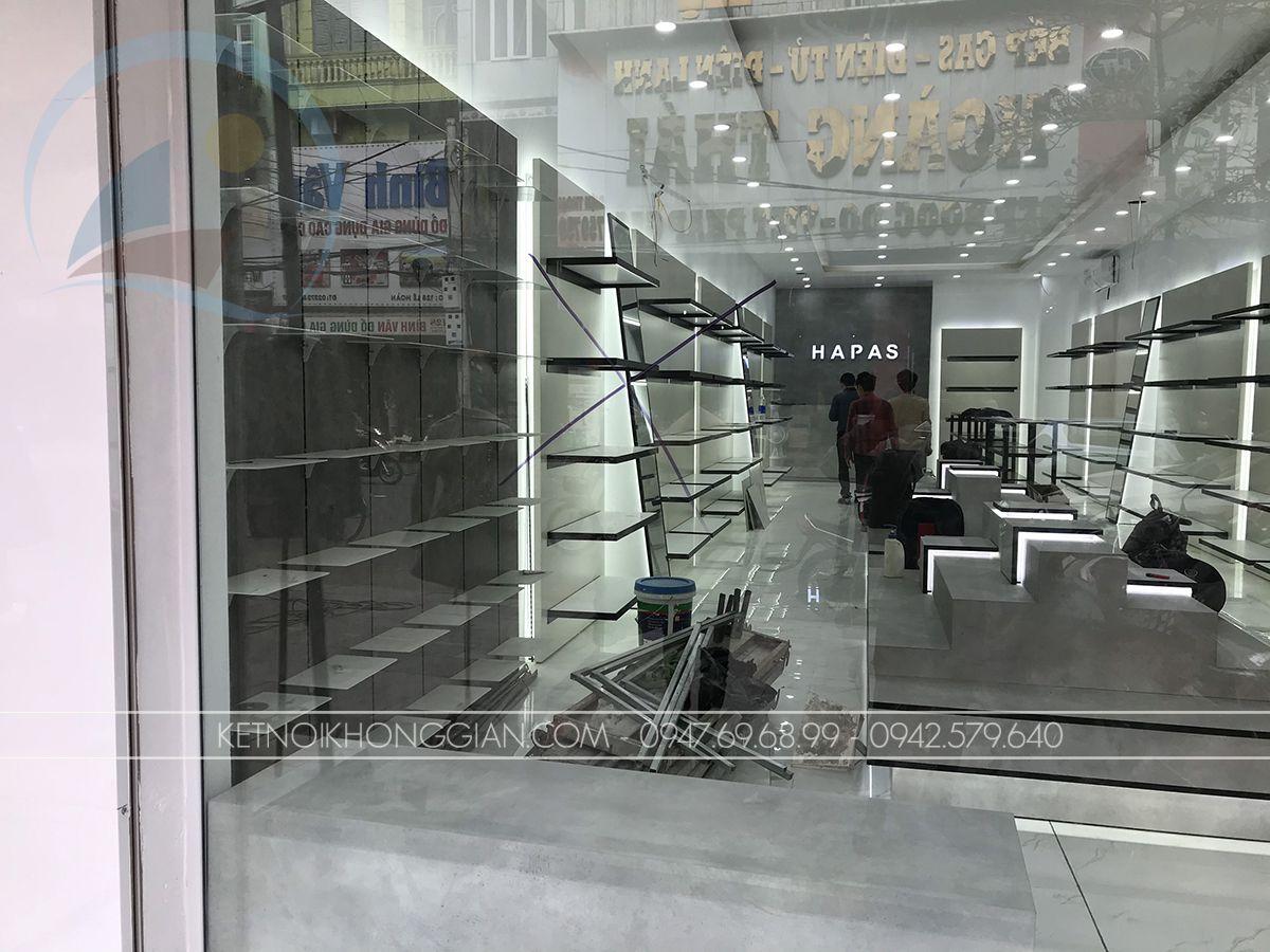 thiết kế nội thất shop giày dép
