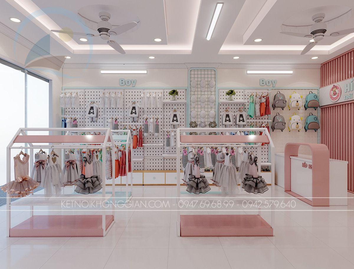 thiết kế nội thất shop trẻ em