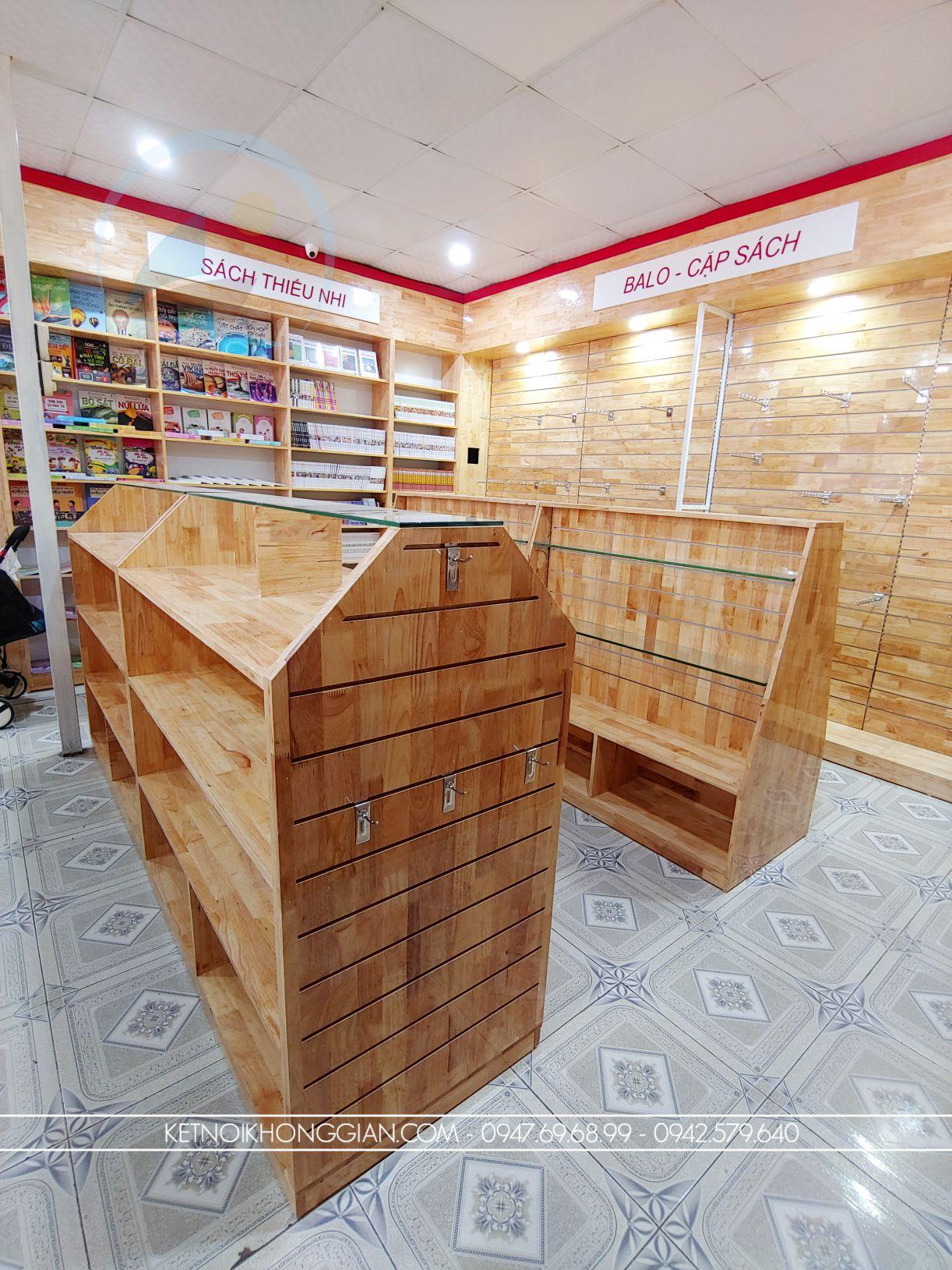 thiết kế thi công nhà sách