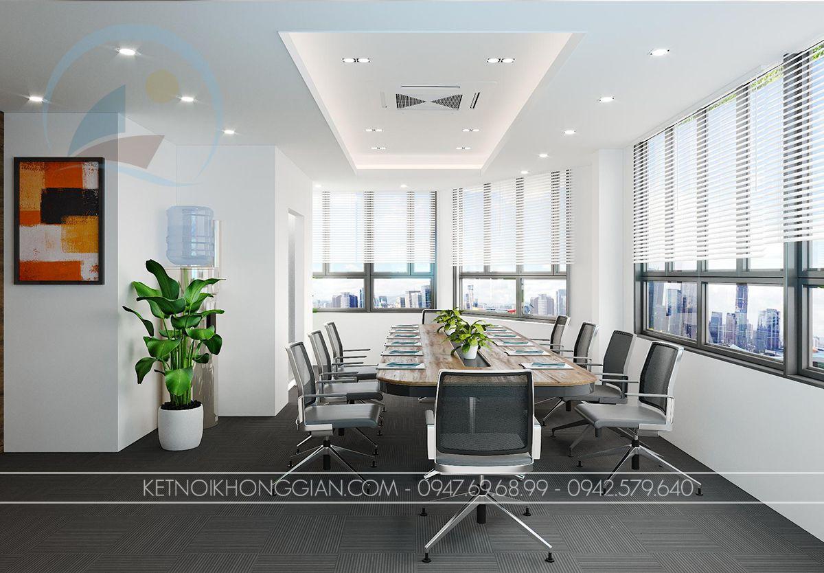 thiết kế phòng họp công ty