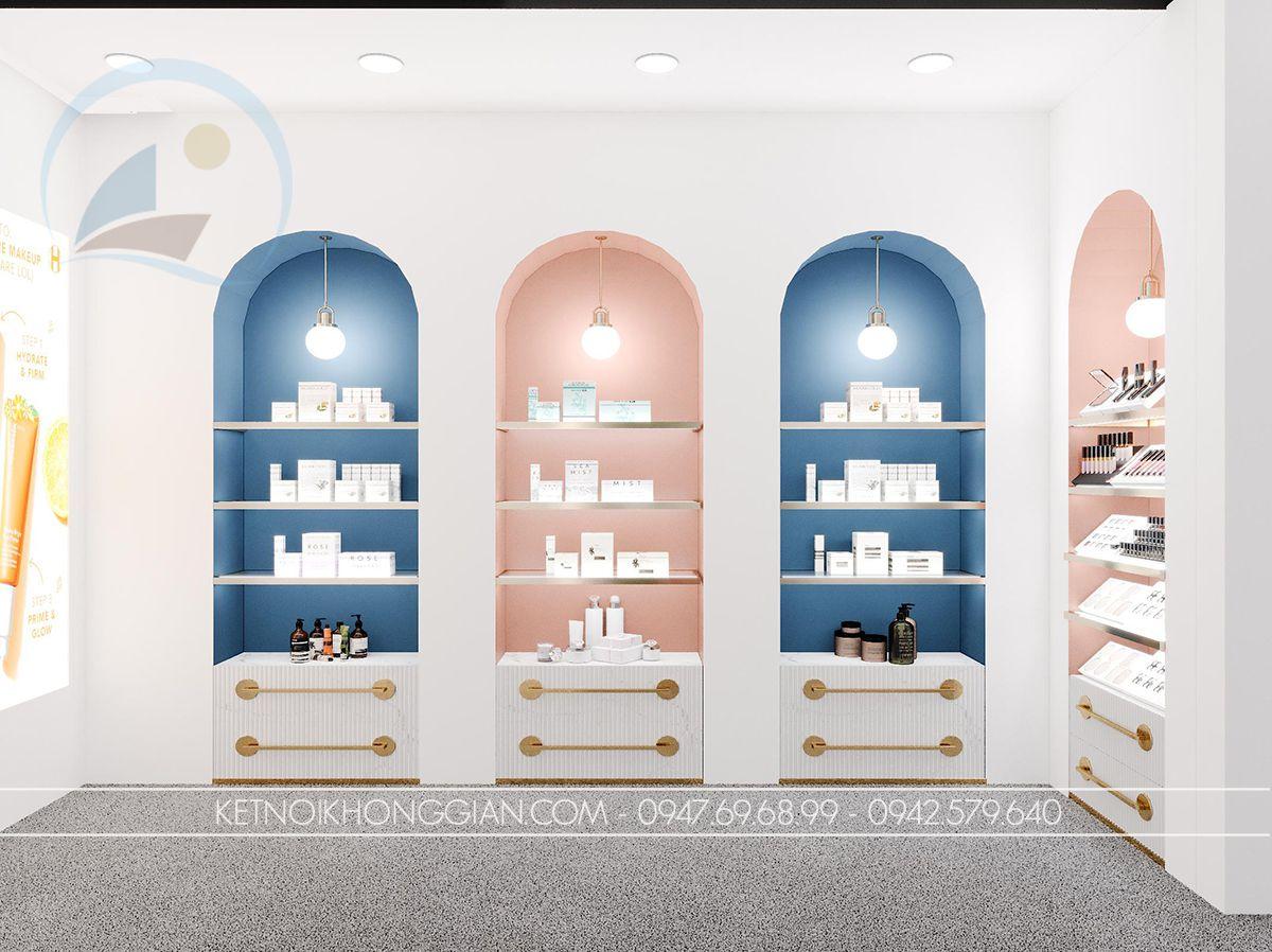 cosmetics showroom design