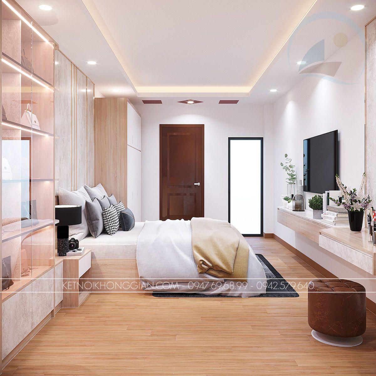 thiết kế nội thất nhà ống 90m2
