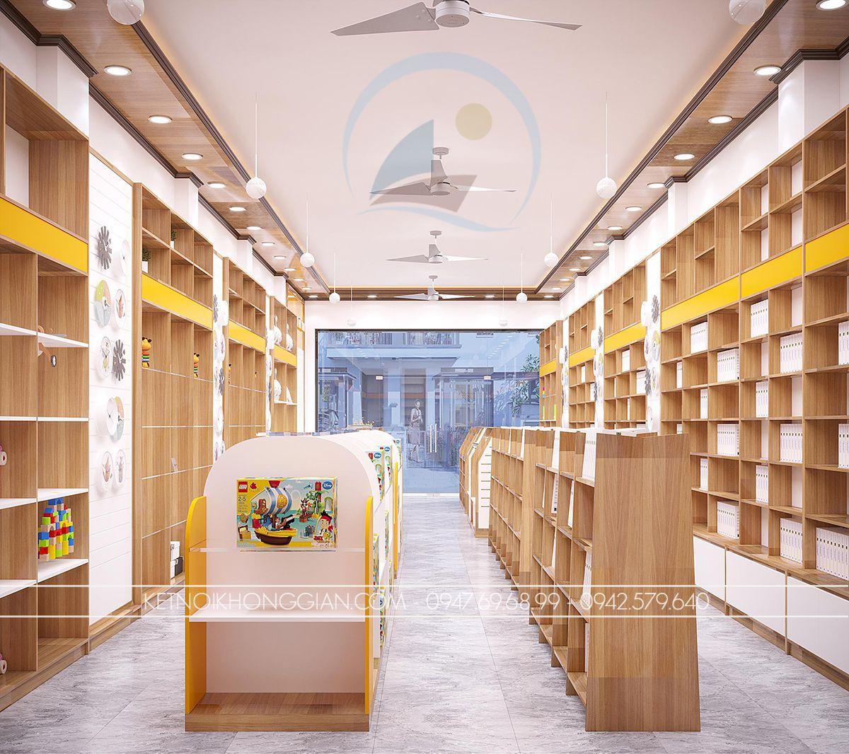 nội thất nhà sách