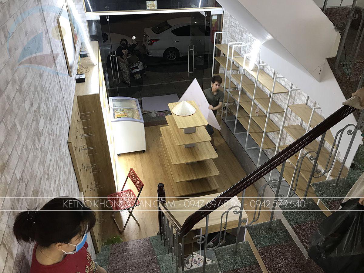 thiết kế cửa hàng tạp hóa