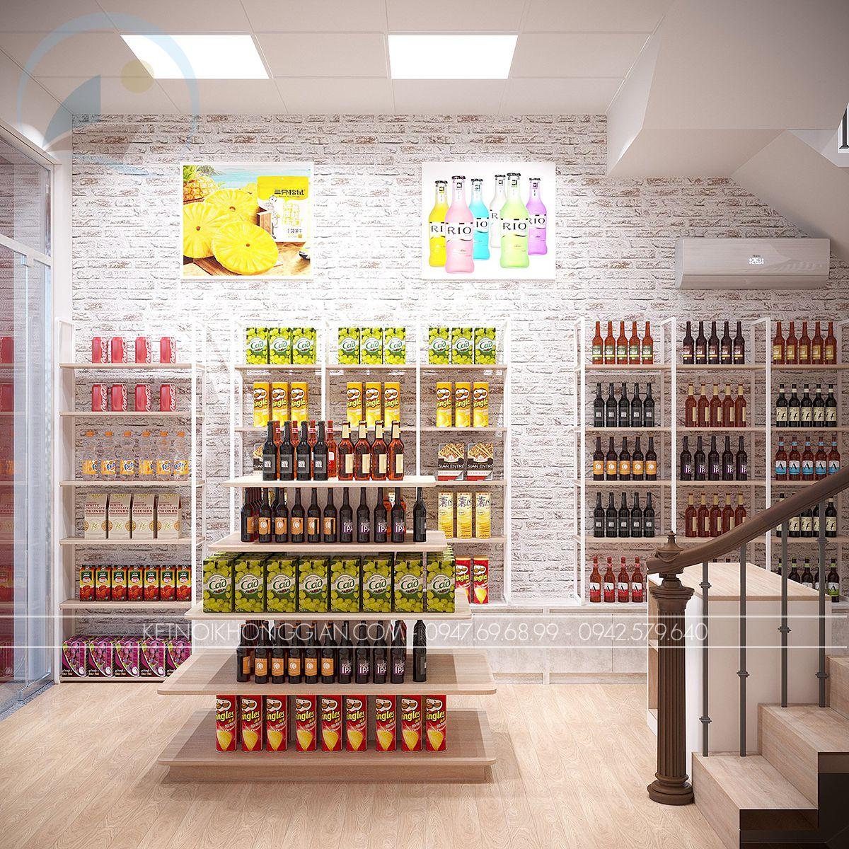 thiết kế cửa hàng đồ nội địa trung quốc