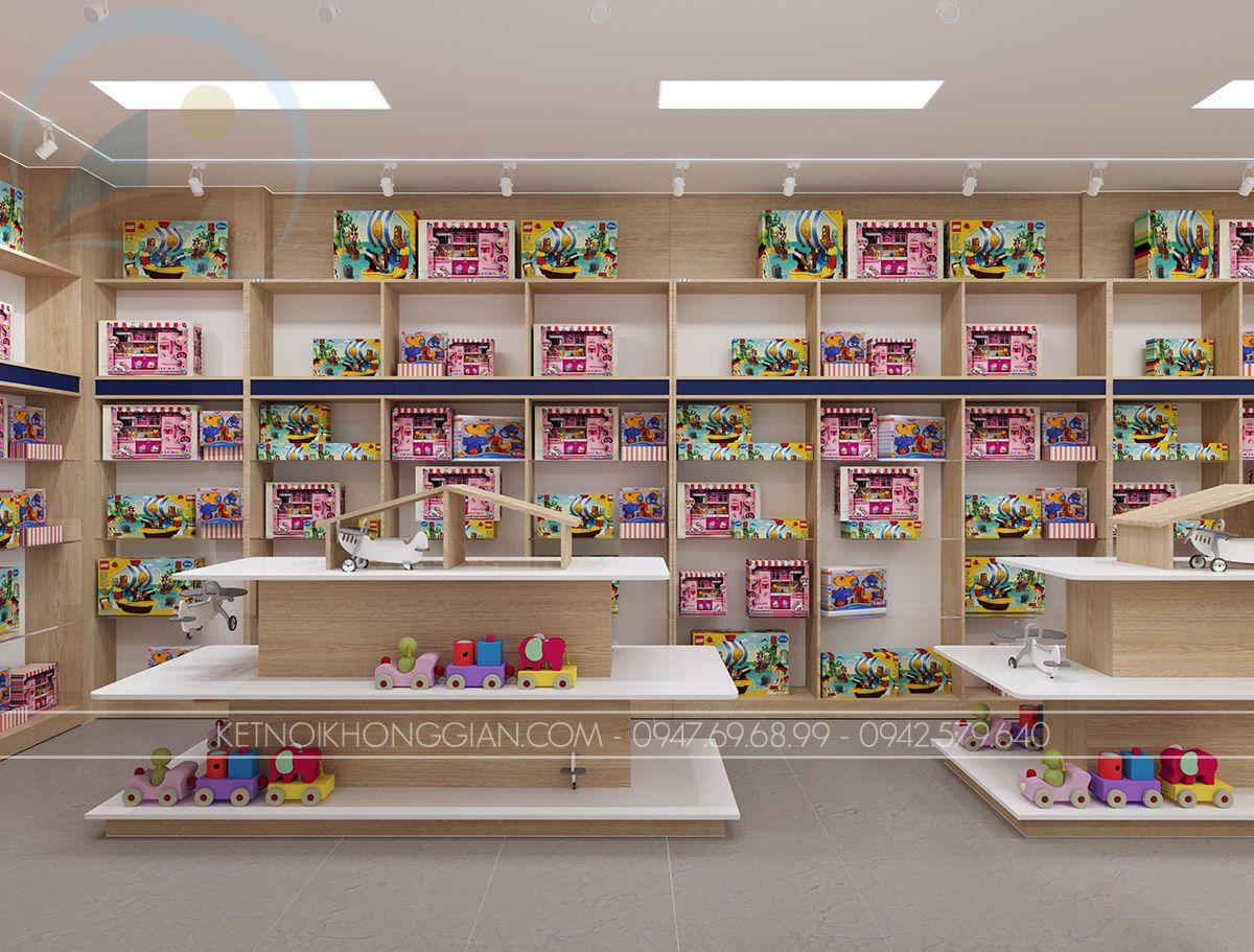 Tủ trưng bày đồ chơi