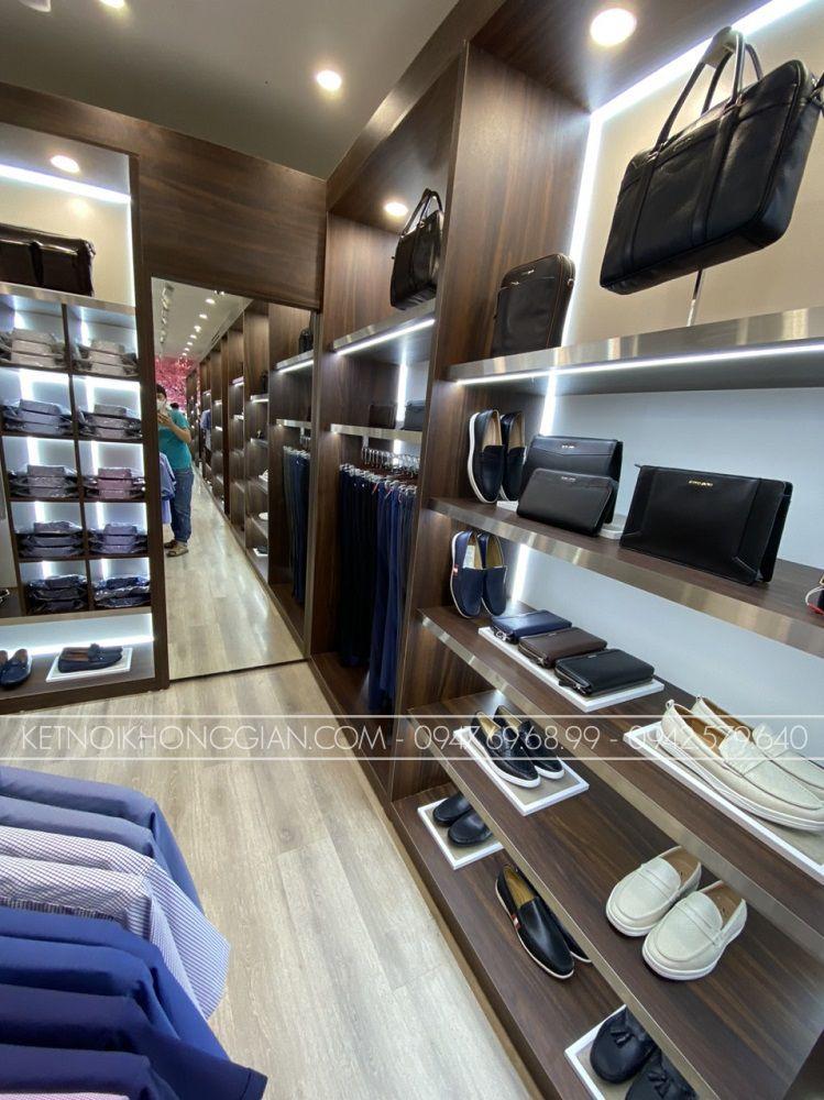 thi công nội thất cửa hàng thời trang