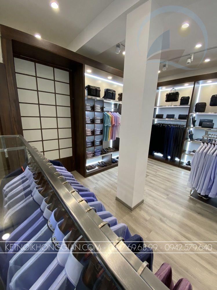 giá treo quần áo inox shop