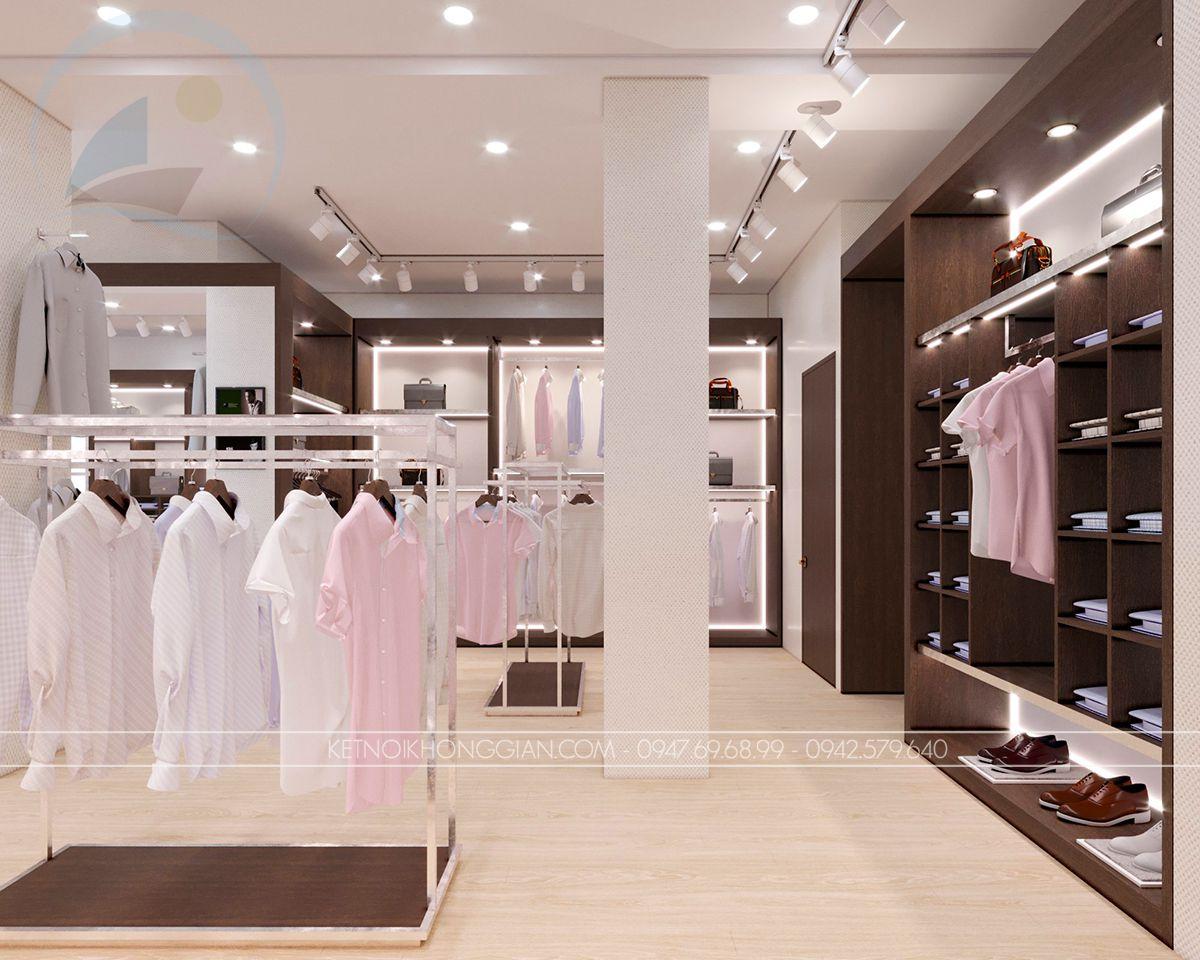 tủ kệ trưng bày quần áo
