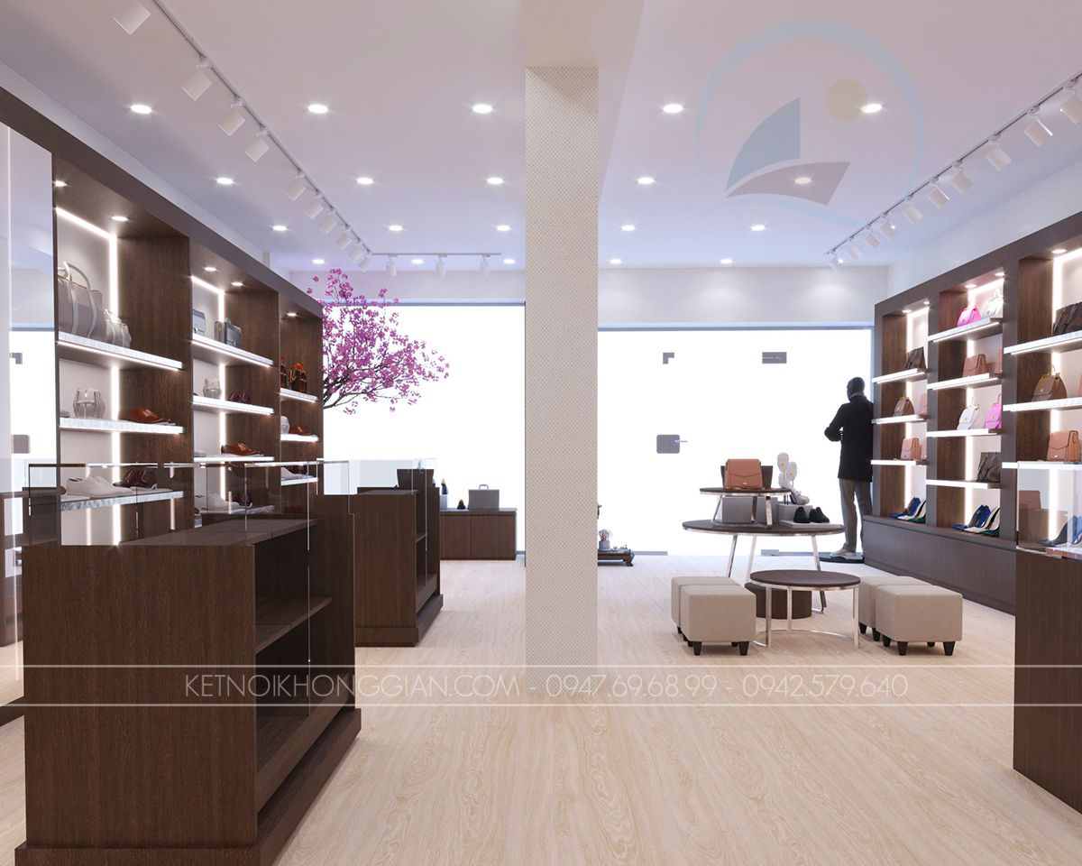 bài trí nội thất cửa hàng