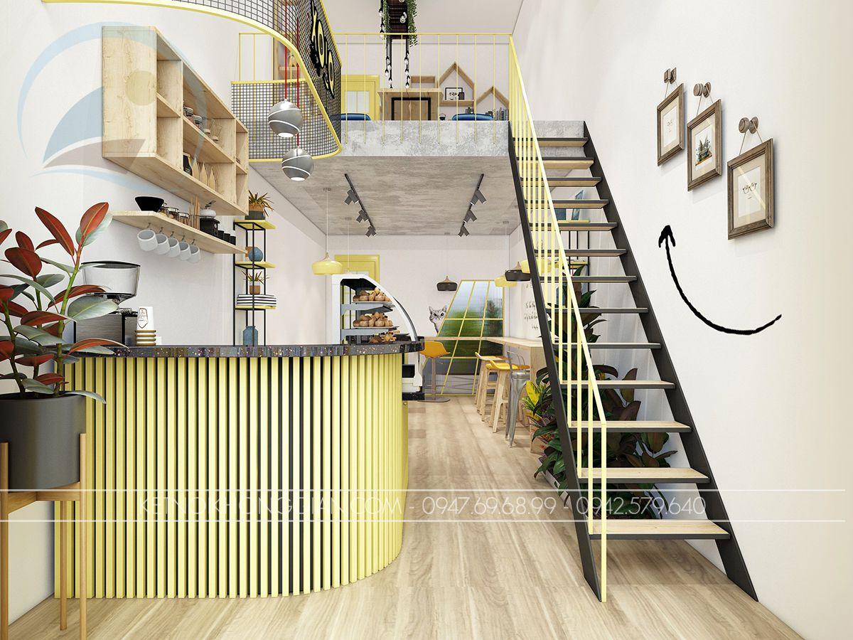 thiết kế quán ăn vặt