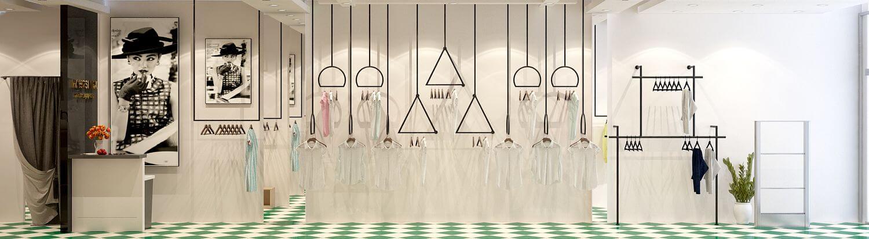 thiết kế shop thời trang hiện đại 13