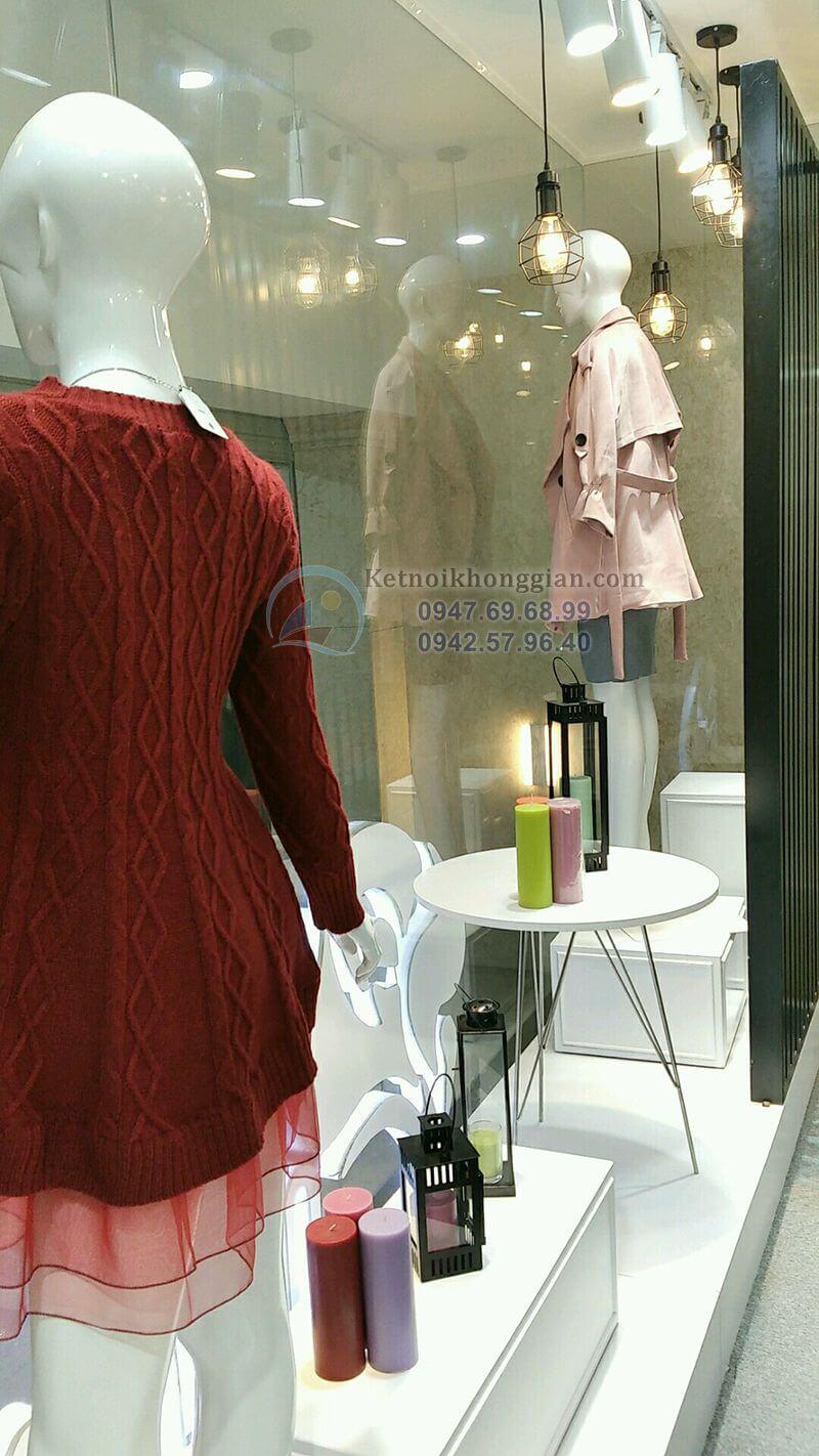 Bục manocanh shop thời trang