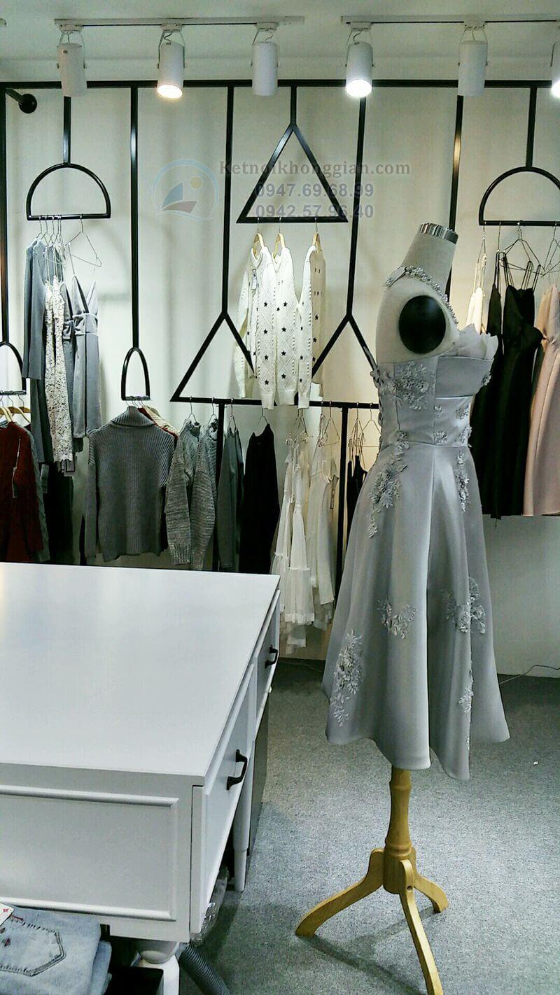 thi công shop thời trang chất lượng cao
